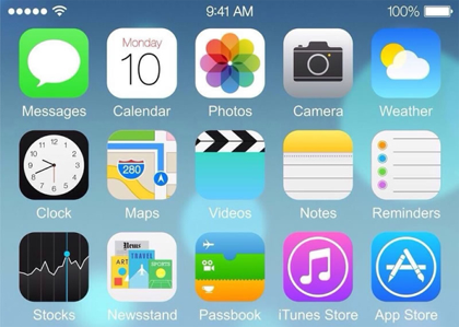 iOS8 スクリーンショット