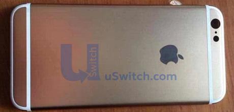 iPhone 6  4.7インチの新たな背面パネル画像 表面