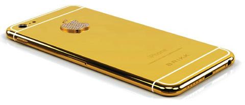 『Lux iPhone 6』イエローゴールド