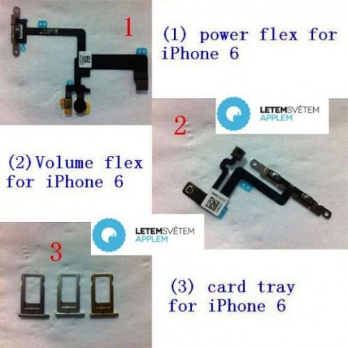 iPhone 6は3色展開?SIMトレイパーツが流出
