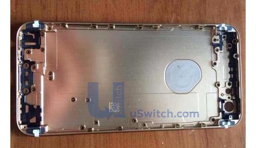 iPhone 6  4.7インチの新たな背面パネル画像 裏面