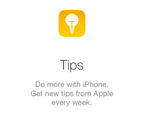 アプリ Tips