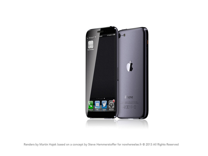iPhone 6 予想画像 (Arthur Reis氏 レンダリング画像)