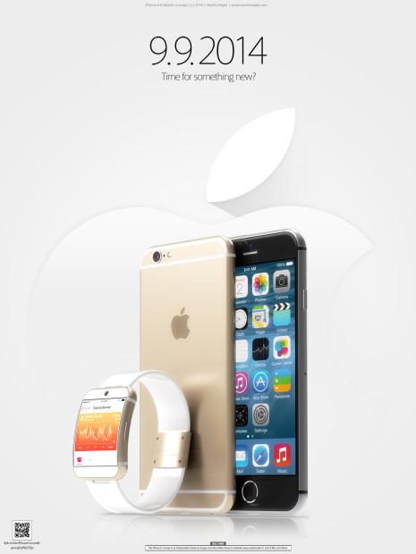 iPhone6とiWatchのレンダリング画像が公開される
