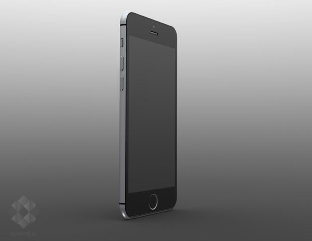 iPhone 6 予想画像 (Mark Pelin氏 レンダリング画像)