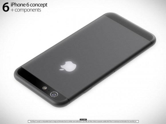 iPhone 6 予想画像 (Martin Hajek氏レンダリング画像)