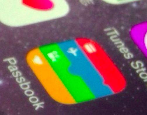 Passbook(通帳)と表記されたアイコン