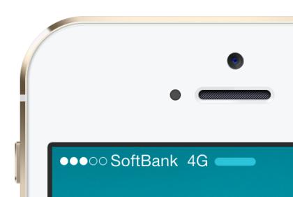 iPhone 6 / 6 Plus ソフトバンクは最大110Mbps のSoftBank 4Gが対応