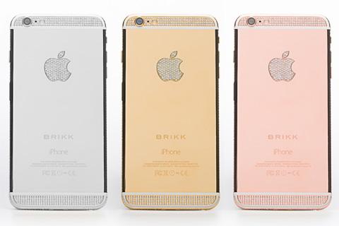 Brikk、iPhone6ダイアモンドセレクトを発表