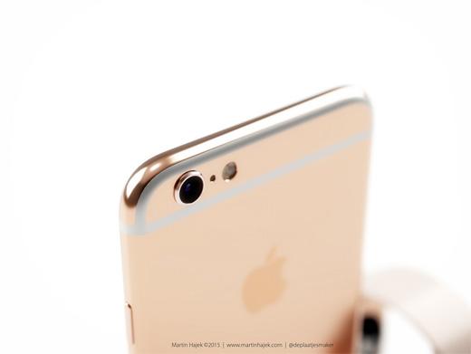 ローズゴールドモデルのiPhone6sコンセプト画像が公開される。