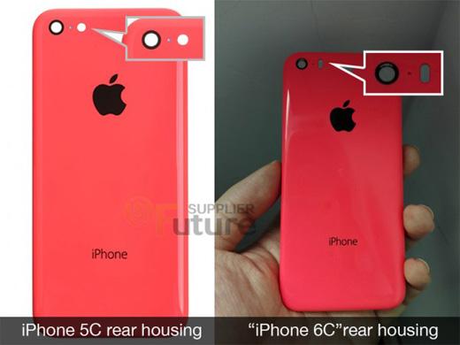 iPhone6cの背面パネル画像がリークされる