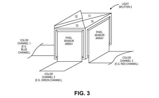 Apple、iPhoneへ搭載するための3センサーカメラの特許を出願取得。