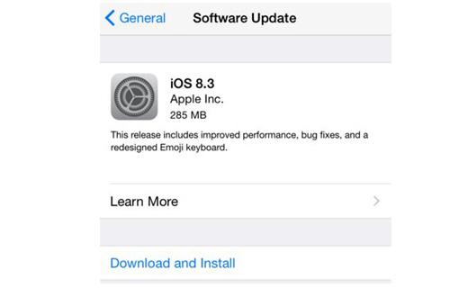 Apple、iOS 8.3をリリース