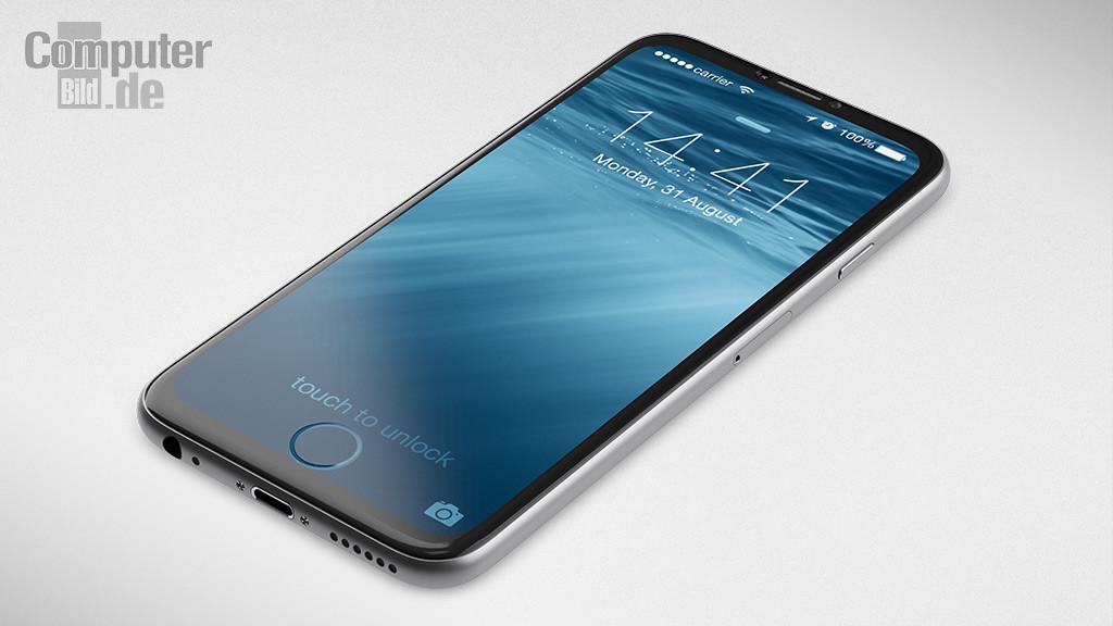iPhone7 コンセプト画像 デバイス前面