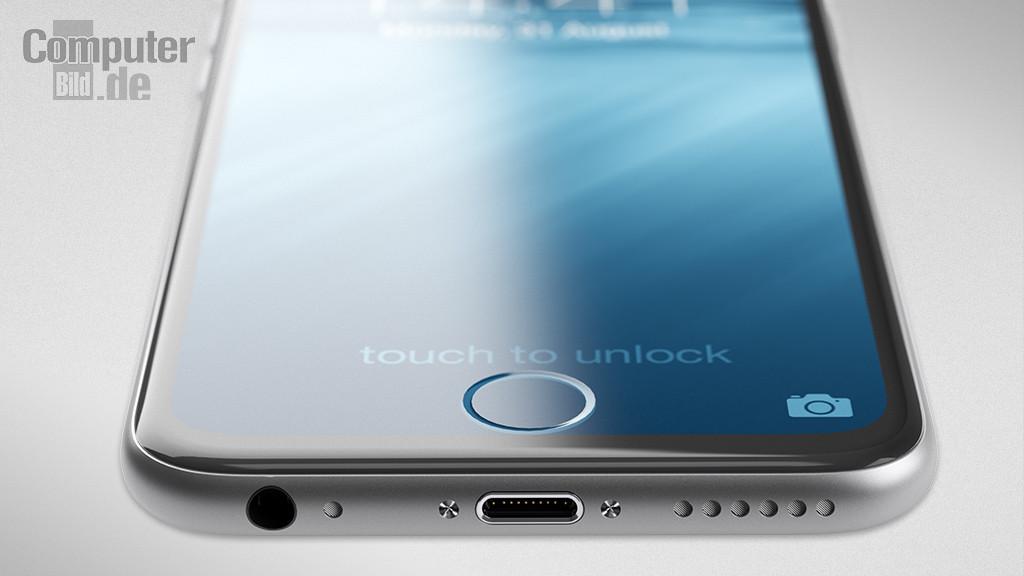 iPhone7 コンセプト画像 底部