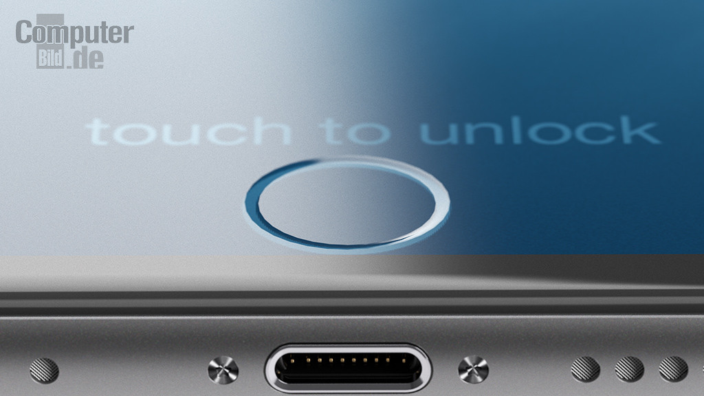 iPhone7 コンセプト画像 TouchID