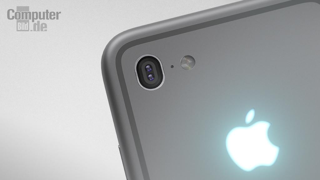 iPhone7 コンセプト画像 リアカメラ