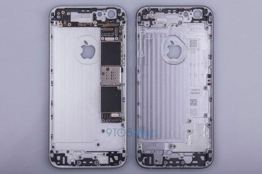 iPhone6sのボディーフレーム写真が流出! 内部構造に多くの変更点を確認。