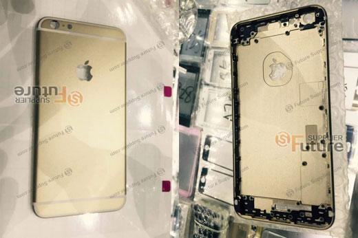 iPhone 6s Plusのリアケース写真がリークされる。構造・素材変更でより強固に