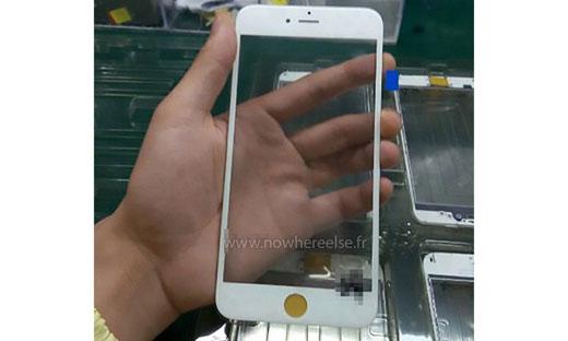 本格的に量産開始か! iPhone 6s、フロントパネルの写真がリークされる。