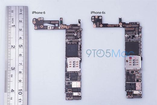 iPhone6s、ロジックボードの小型化でより少ないチップ数となり、新型NFCチップを搭載か?