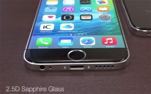 デザインはiPhone4とSamsung Galaxy S6から影響を受けている?