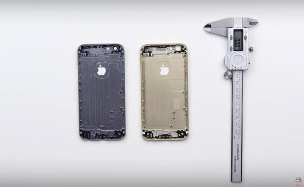 iPhone6sは、強化され軽量化された肉厚シェルを採用か!? 検証動画が公開される