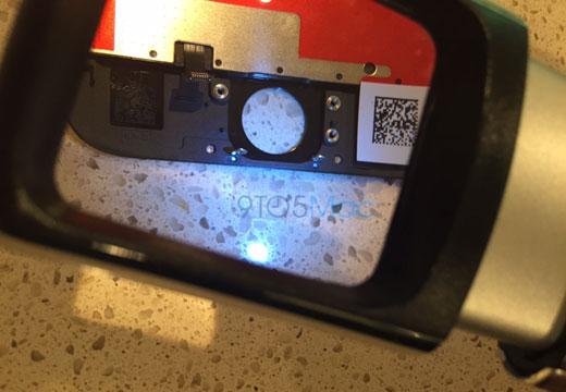 「touch ID」ベースのホームボタン