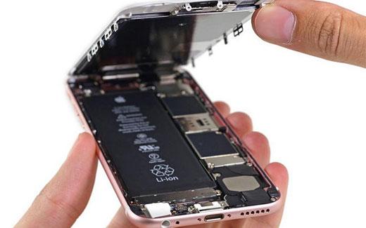 iPhone6sを分解した結果、やはりバッテリー容量は1715mAhと判明