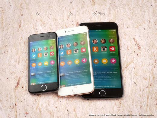 iPhone6s / 6s Plus、そしてiPhone6cの新たなレンダリング画像が公開される