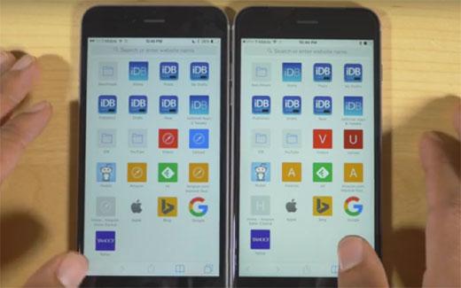 iPhone6sはRAM容量が2GBになったけど、iPhone6に比べて性能はどれだけ違うの? 比較検証動画の結果は・・