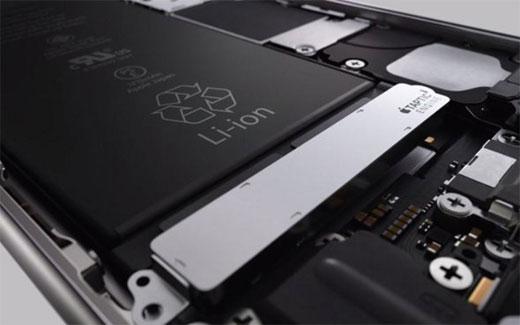iPhone6sのバッテリーは、iPhone6より少ない1,715mAhになるが、バッテリー寿命は変わらない模様