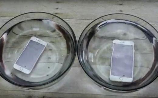 iPhone6s、完全防水ではないけど生活防水の性能は向上している!?検証動画が公開される