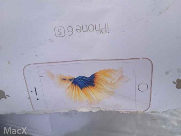 iPhone6sのパッケージ画像