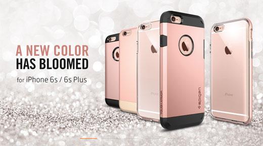 ケースメーカーがiPhone6s「ローズゴールドモデル」のコンセプトイメージを公開