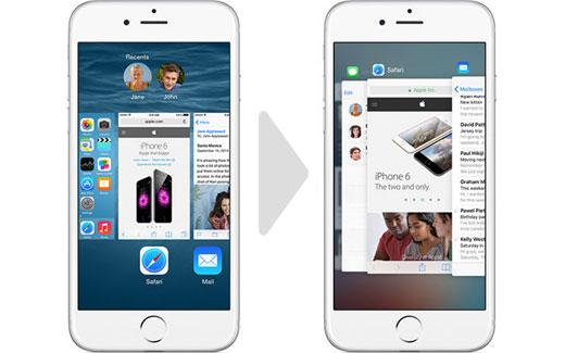iPhone6s、3D Touchでより効率的になったマルチタスク機能