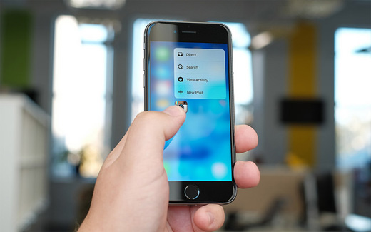 iPhoneSEに3Dtouch技術が採用されなかったのはなぜ?
