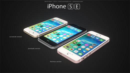iPhone SEのレンダリング画像