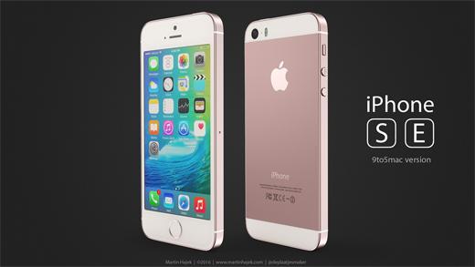 iPhone SEのレンダリング画像『9to5macバージョン』
