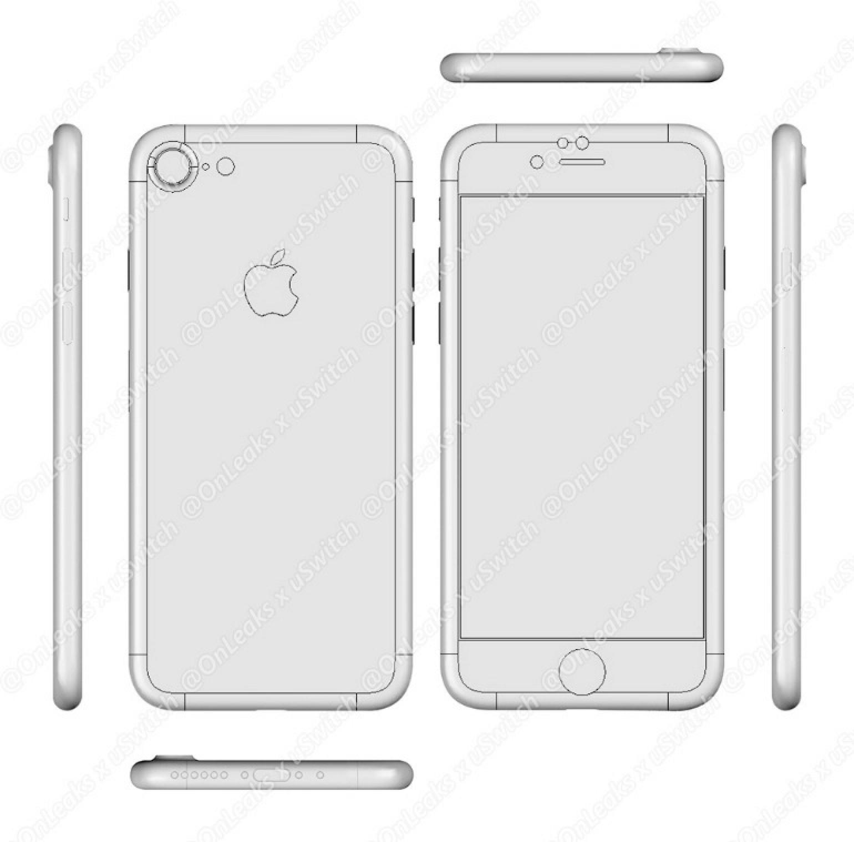 iPhone7シリーズからイヤフォンジャックが消失か?リーク画像で判明