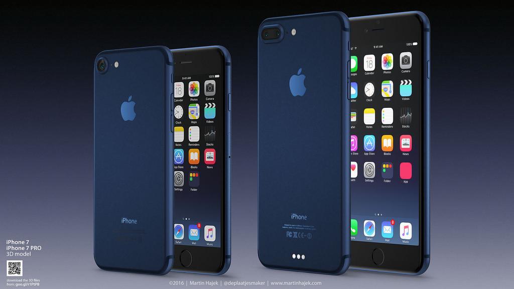 iPhone7にオトナ向けの渋い新カラー『ダークブルー』登場?