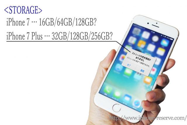 iPhone7シリーズのストレージ展開に新説浮上?