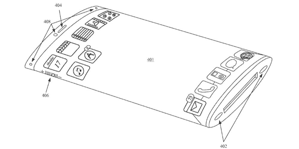 Appleが曲面ディスプレイの特許を取得!iPhone8に採用か!?