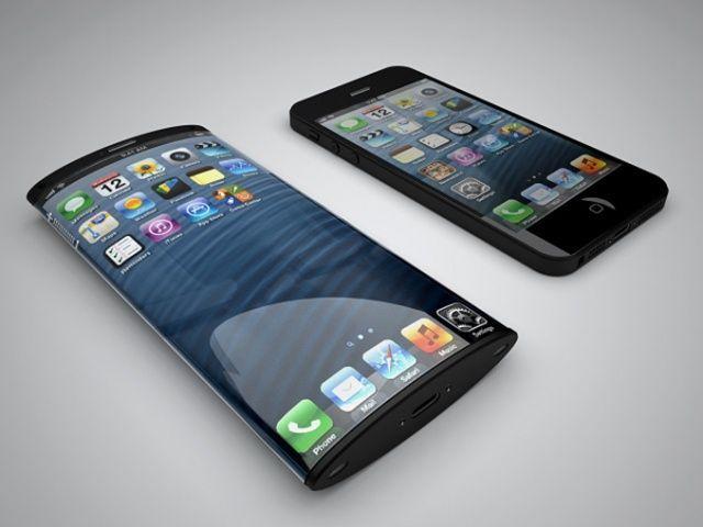 iPhone 8曲面ディスプレイイメージ
