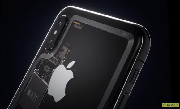 「もしもiPhone8の筐体が透明だったら?」コンセプトムービー