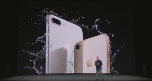 iPhone8の耐水防塵
