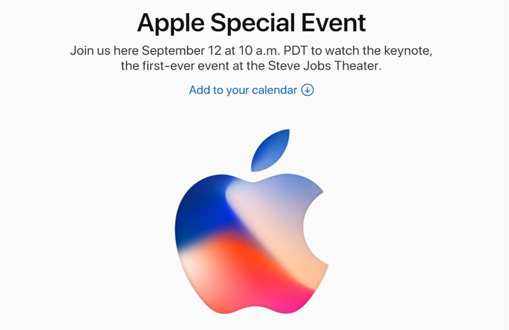 Appleが新型iPhoneの発表を正式に告知!