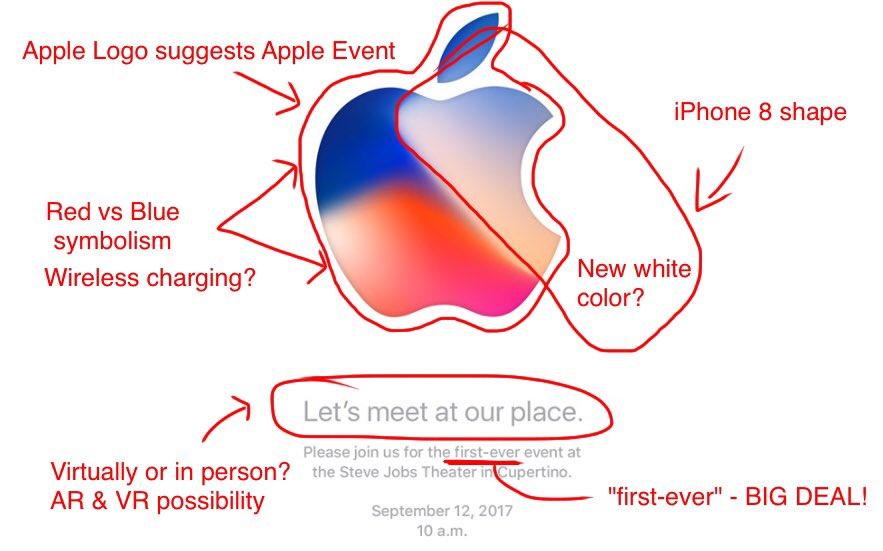 アップルスペシャルイベントのロゴ考察2