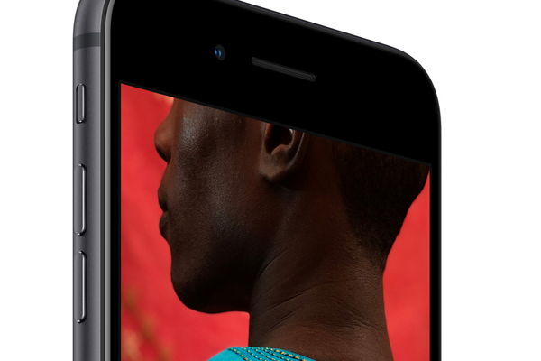 iPhone8のカメラ