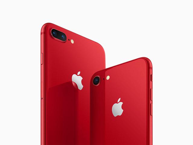 iPhone 8 と iPhone 8 Plus に新色レッドが追加!
